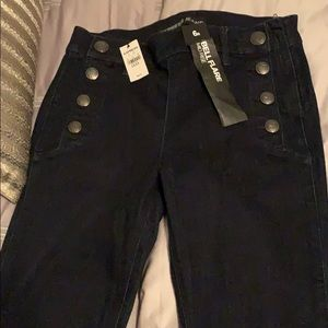 Express Bell Flare Midrise Jeans size 6R